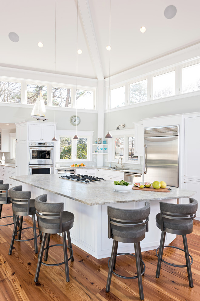 Beach-Style Kitchen Design