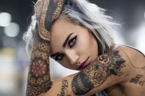 Beautiful Arm Skull Tattoo