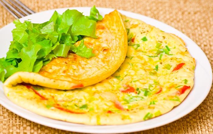 Chinese Egg Omelet