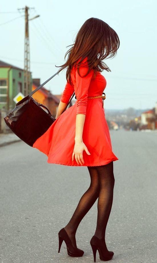 Cute Christmas Red Dress