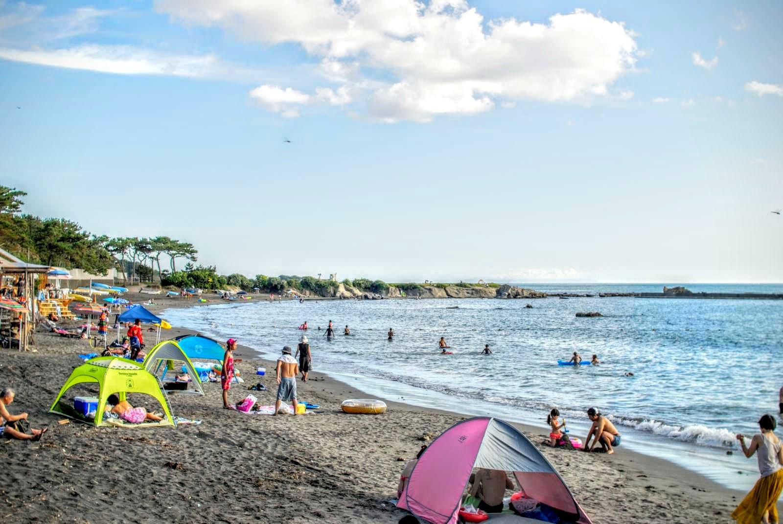 Isshiki Beach, Hayama, Japan