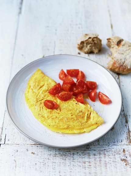 Simple Cheese Omelette