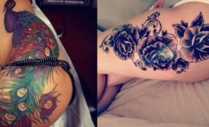 25 Beautiful Thigh Tattoo Ideas for Women