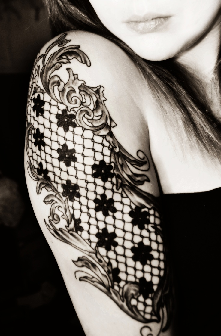 Arm Lace Tattoo