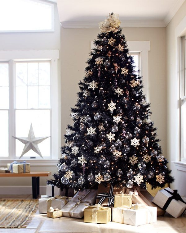 best christmas tree decorations ideas black christmas tree
