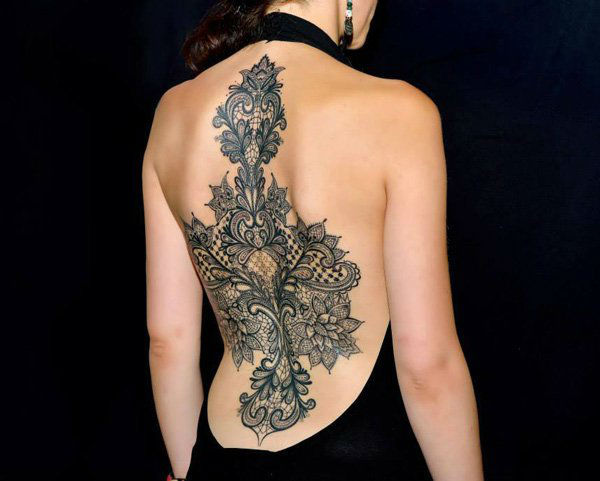 Gorgeous Back Tattoo