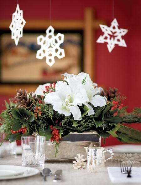 Unique Christmas Table Decorations