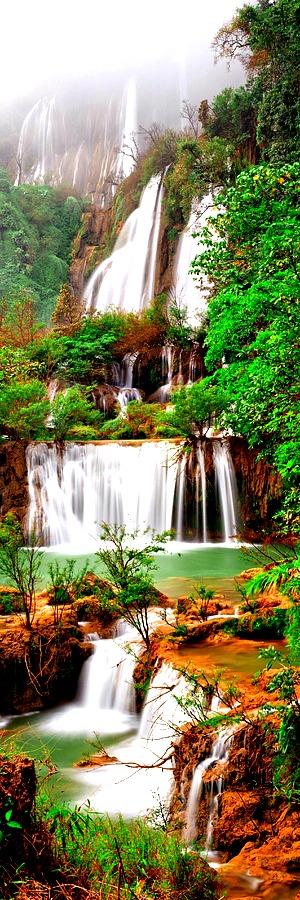 Thi Lo Su Falls, Thailand