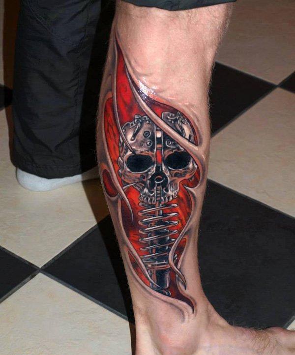 3D Tattoo Design beautifulfeed (16)