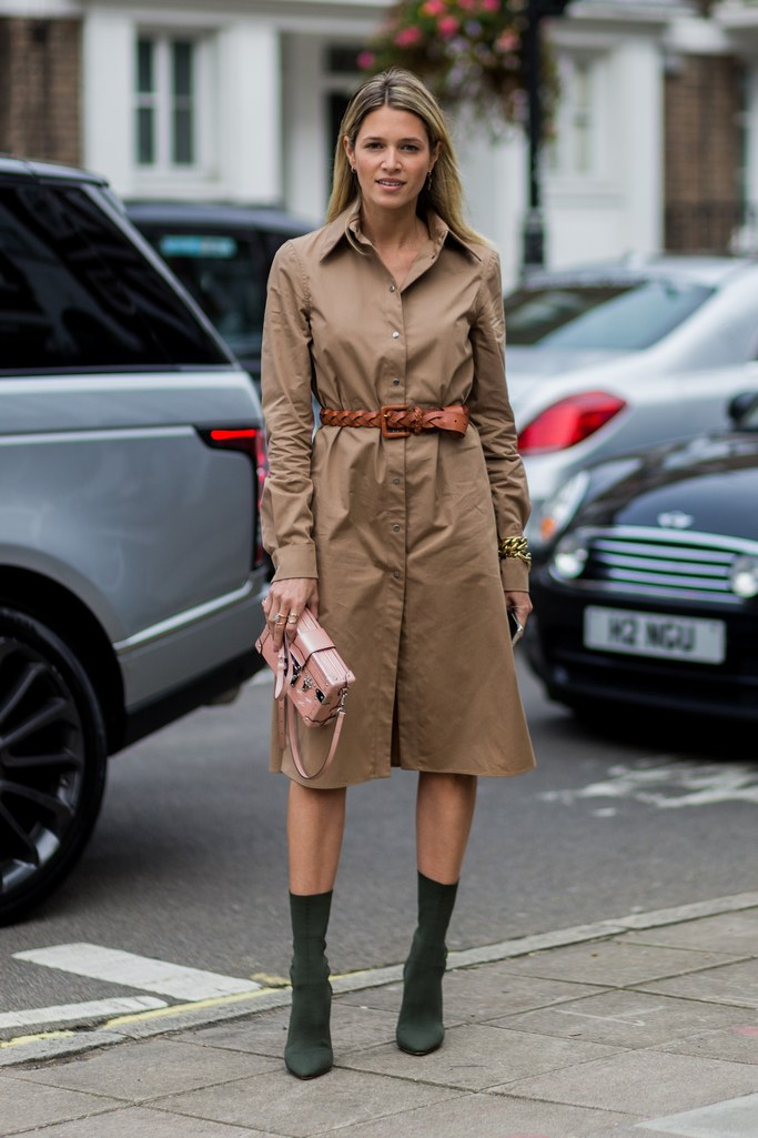 Belted Trench For A Polished Shirtdress Beautifulfeed
