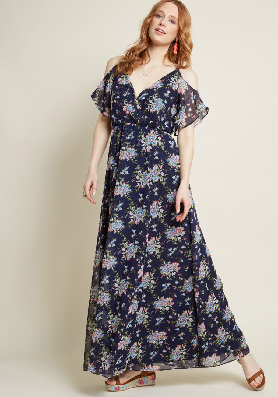 Floral Maxi Dress Beautifulfeed