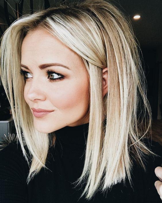 Medium Length Hairstyles Beautifulfeed (10)
