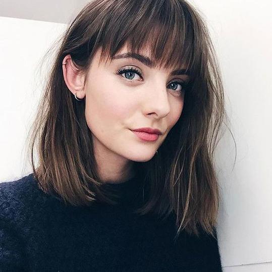 Medium Length Hairstyles Beautifulfeed (11)