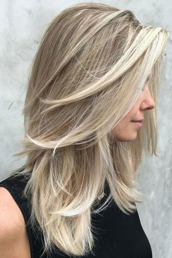 Medium Length Hairstyles Beautifulfeed (29)