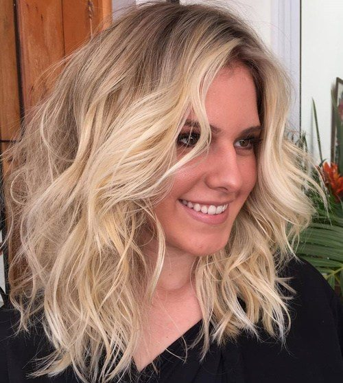 Medium Length Hairstyles Beautifulfeed (36)