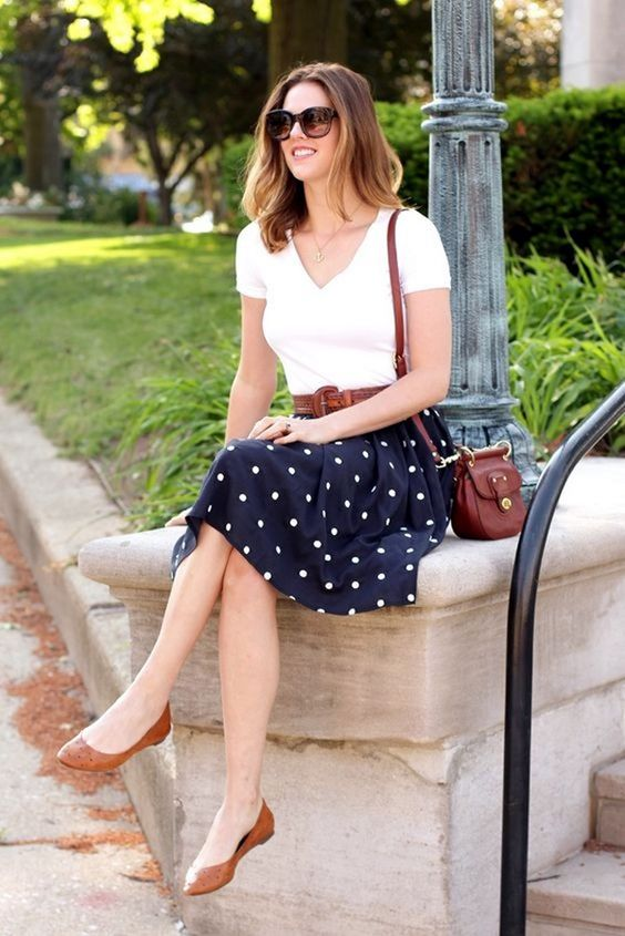 Polka Dot Outfit Beautifulfeed