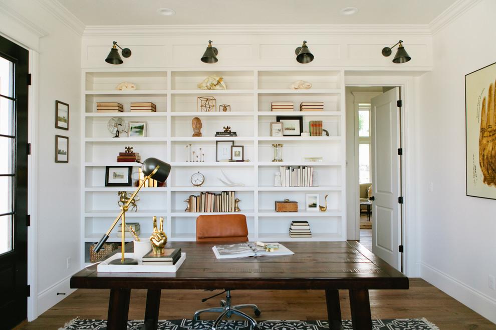 Farmhouse Style Home Office Ideas