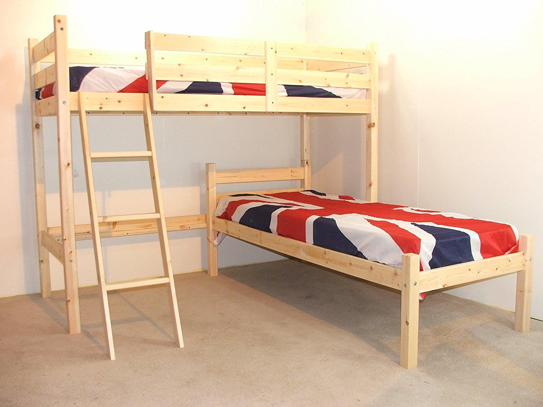 L-Shape Bunk Beds Beautifulfeed