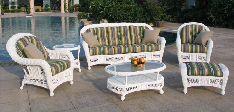 All Weather Wicker Deep Seating Set