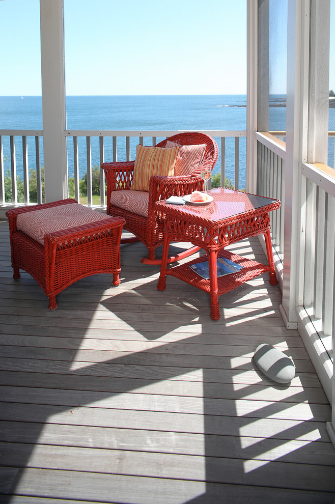 Beach Front red Wicker Furniture