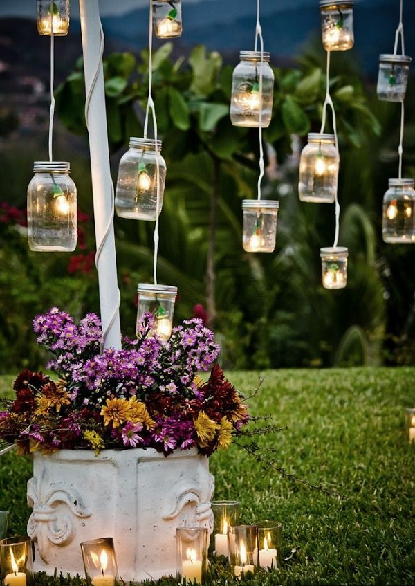 Mason Jar Lighting Decoration