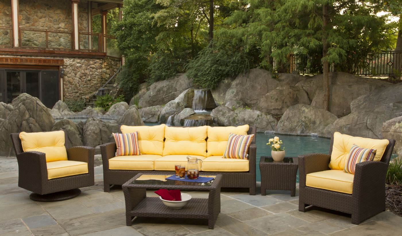 Outdoor Wicker Furniture Patio Sets