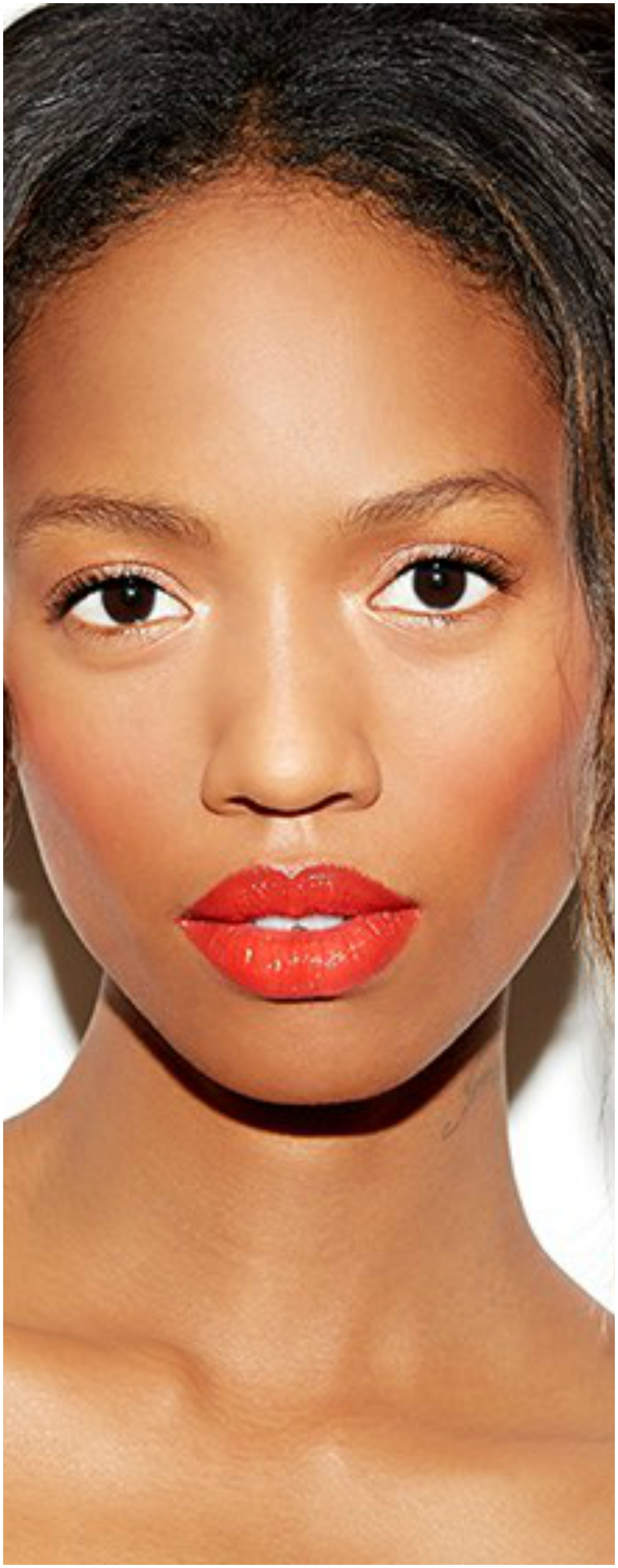 Strawberry Shade On Lips And Cheeks Beautifulfeed