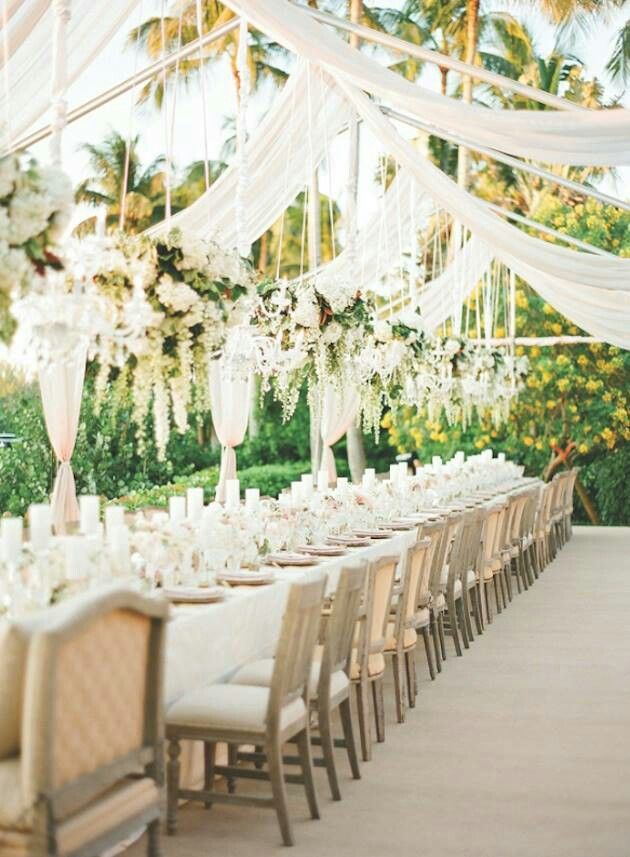 Tented Wedding Dining Decoration