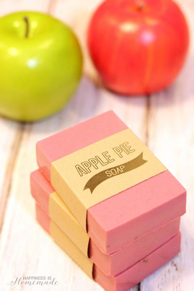 Apple Flavored Soap