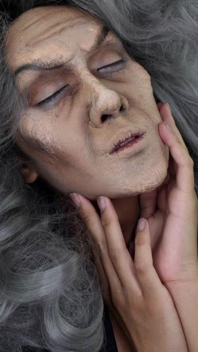 Evil Witch Halloween Makeup Tutorial