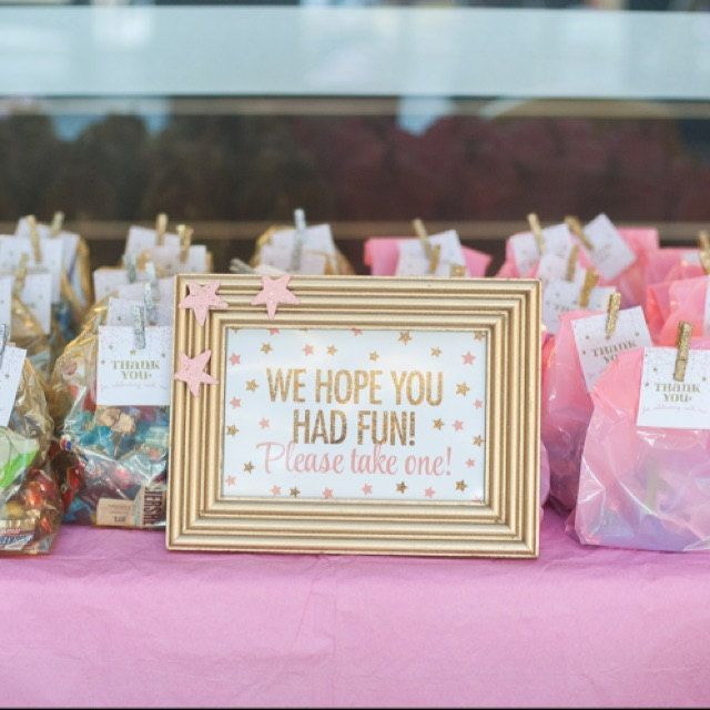 Party Favor Sign