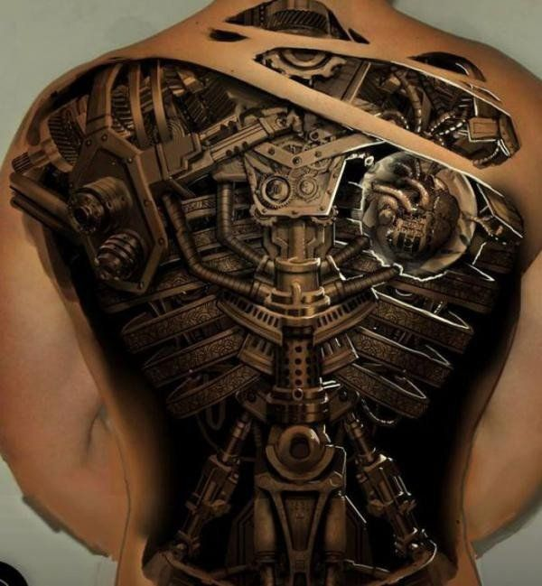 Realistic 3d Tattoo