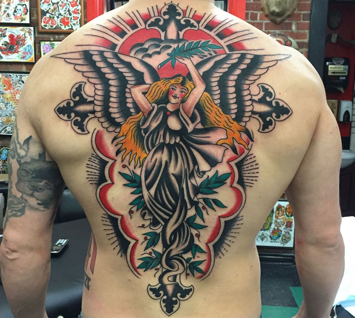 american tattoo on arm Awesome Ryan Gagné s quintessentially classic American Tattoos Ideas Q1O