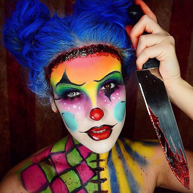 Clown Makeup (23)
