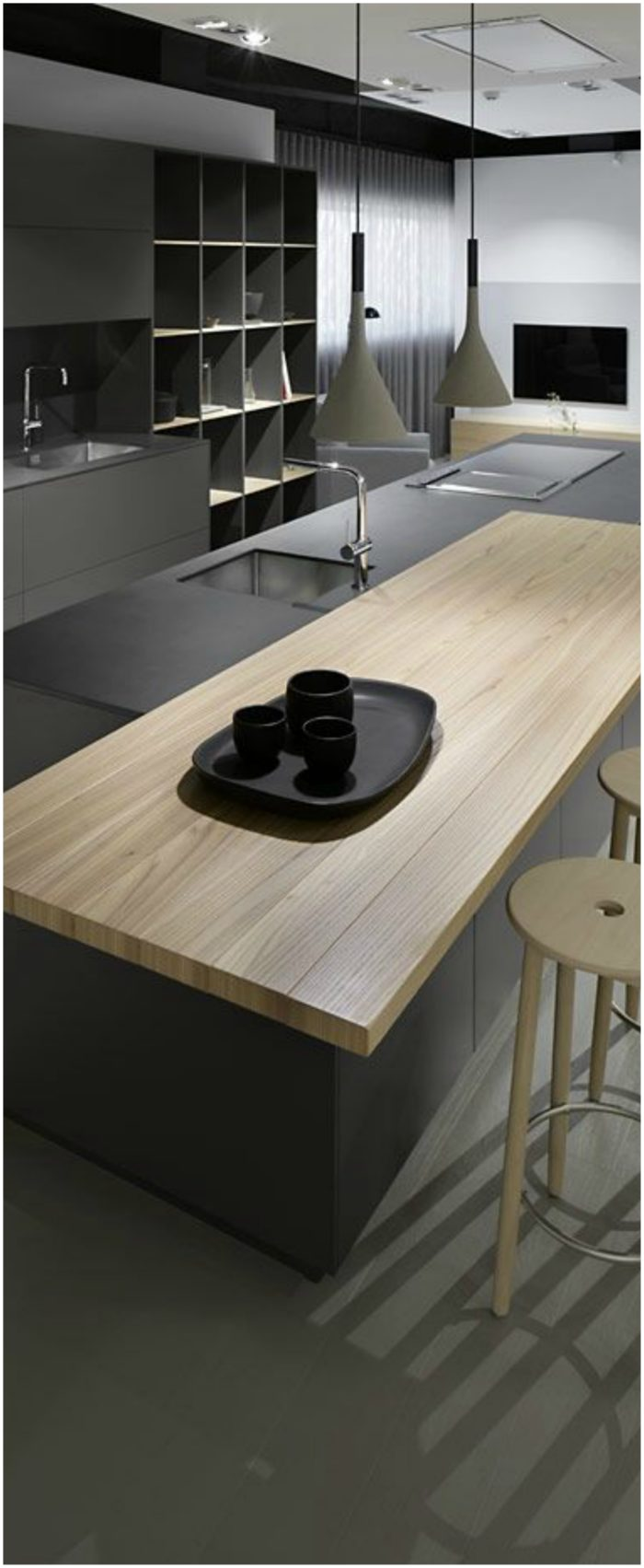 Contemporary Kitchen Cabinet (2)