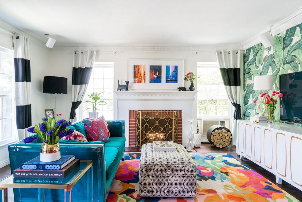 Living Room Color Scheme (31)