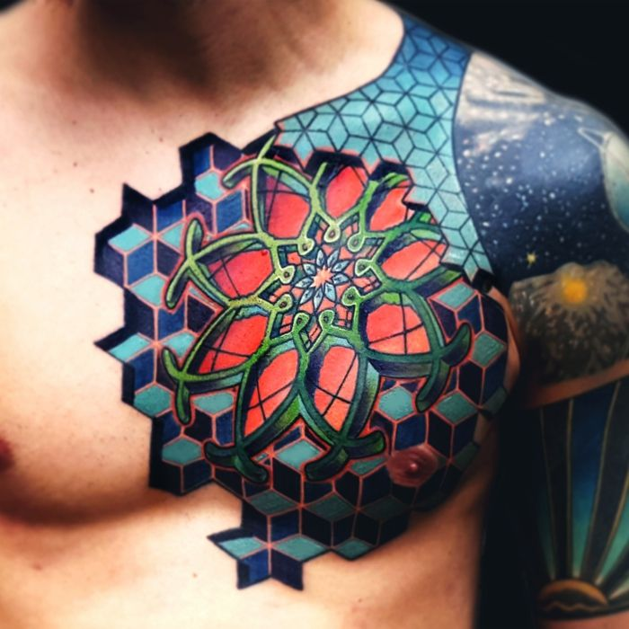 38 Colored Mandala Tattoos Collection: 30 Mandala Tattoo Designs To Get Inspired