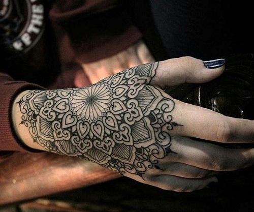 Mandala Tattoo (9)