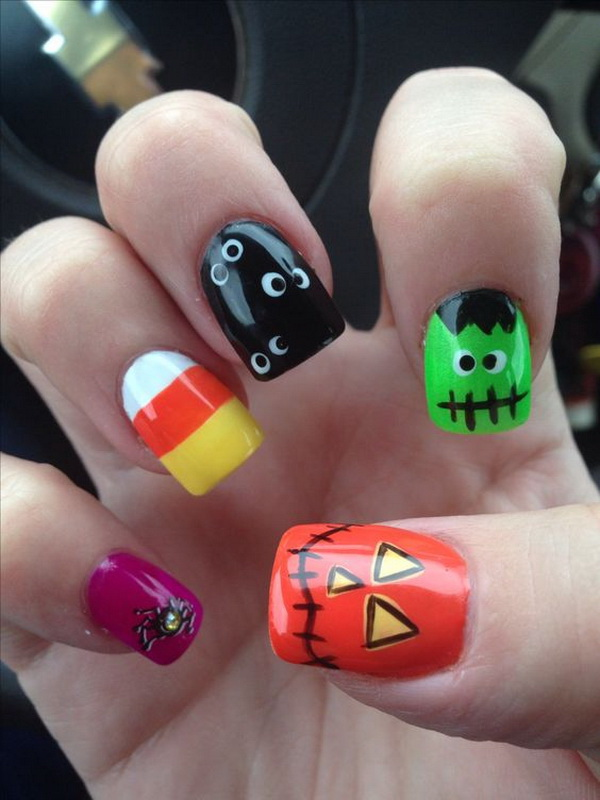 30 Halloween Nails Art Inspiration To Copy This Year