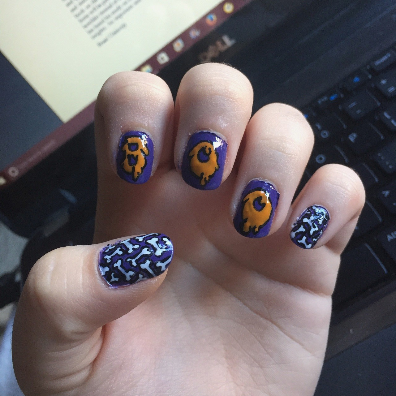 Awesome Halloween Nails Tumblr To Try For 2018 @[Summer Nail Designs for 2018 Best Nail Art Ideas Best Nail Art Ideas for Summer Nail Art Ideas Best Nail Designs and Tutorials Unique Nail Art Designs SUMMER Nail Art 2018 on Pinterest Nail Art Designs on Pinterest Nail Art Designs 2018 Easy DIY Nail Art Tutorials 2018 Best Nails of 2018 New Nail Art Design Trends for 2018 Nail designs 2018 Cute Beautiful Nail Art Designs Just For You Design Tips Nail Art Designs & Ideas 2018 Easy Tips & Pictures