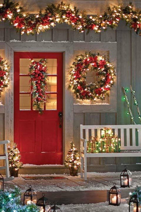 Outdoor Christmas Decorations (47)