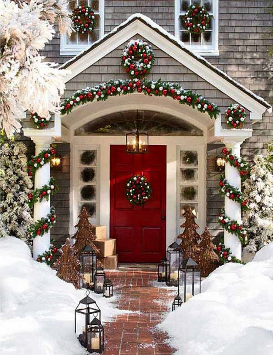 Outdoor Christmas Decorations (62)