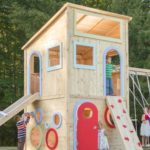 25 Outdoor Wooden Playhouse To Make Your Child Happy