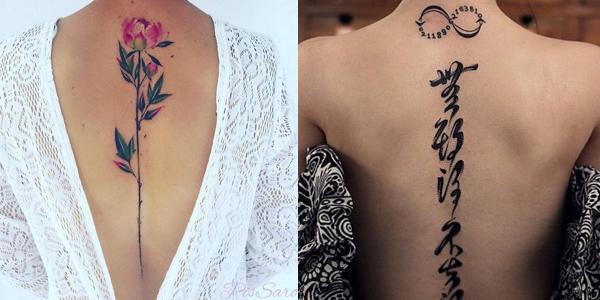 Spine Tattoo (1)
