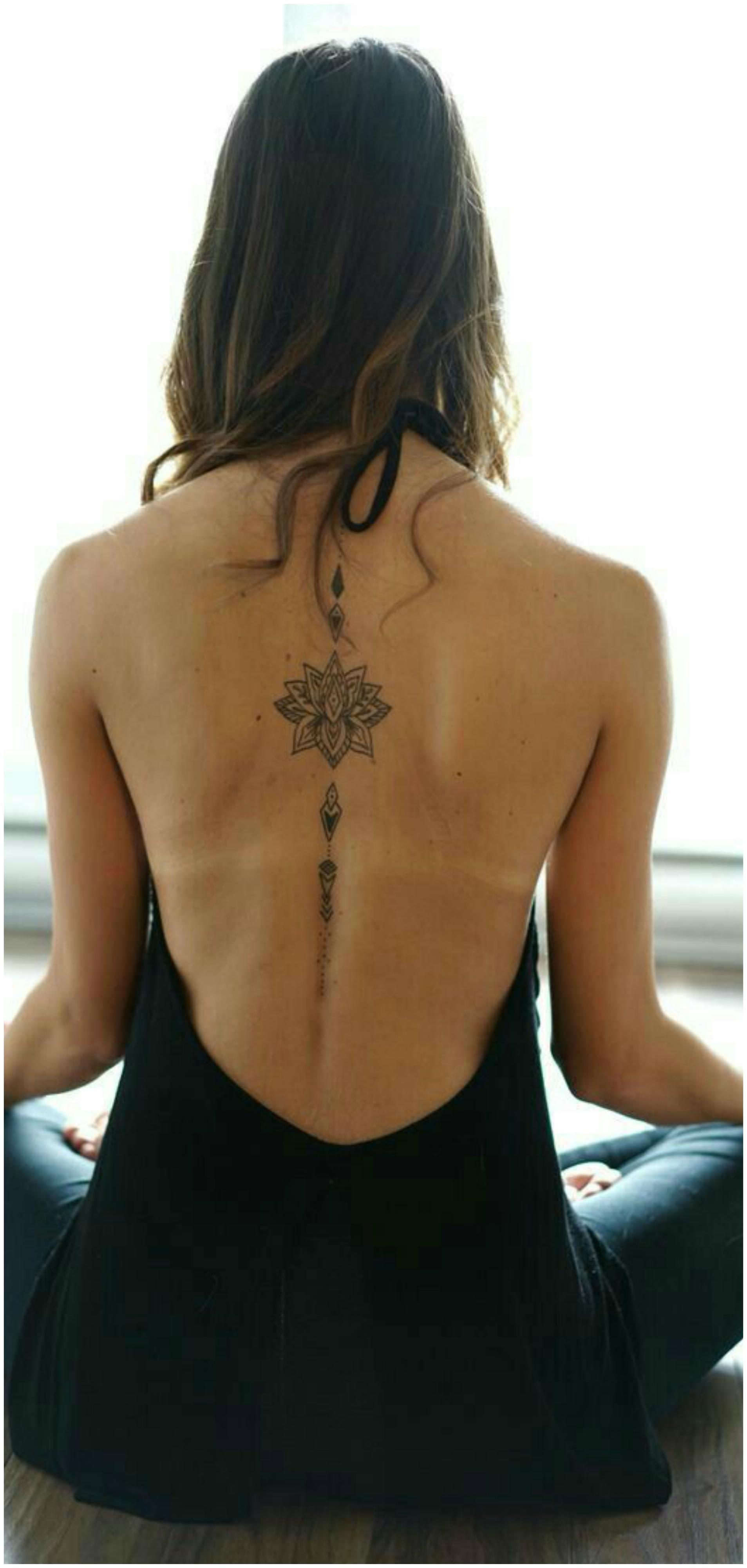 Spine Tattoo (9)
