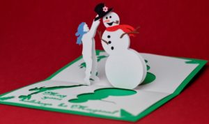 26 Best Snowman Christmas Cards Ideas For This Season