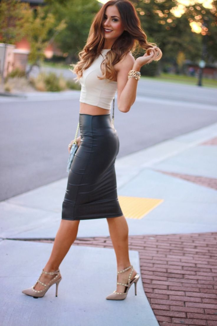 Crop Tops & Skirt (3)