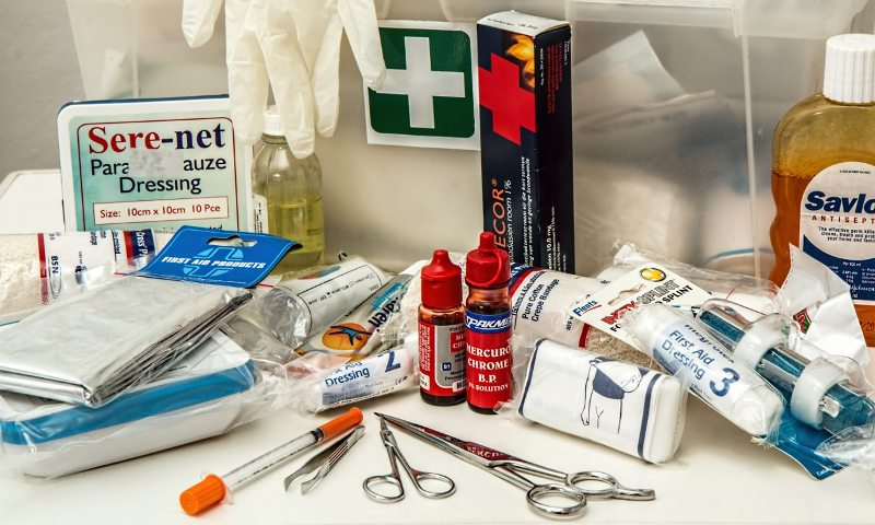Keep the First Aid Kit