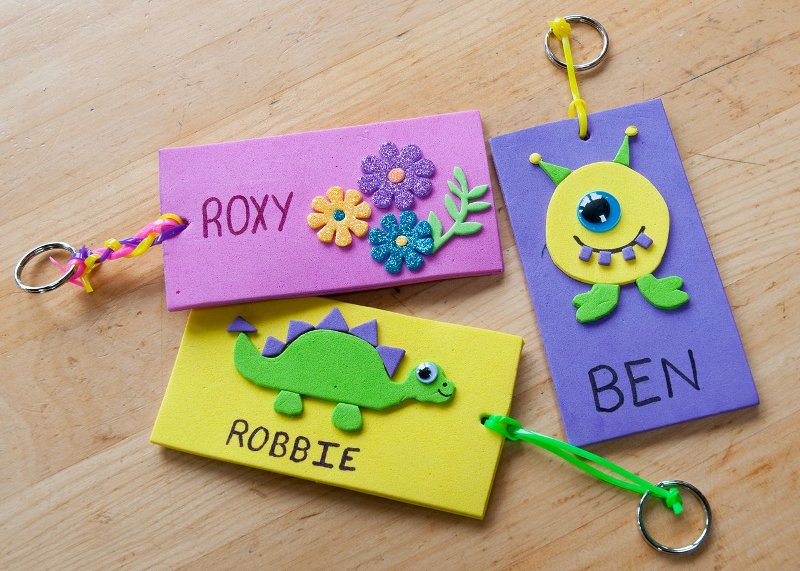 Keep the Name Tags with Kids