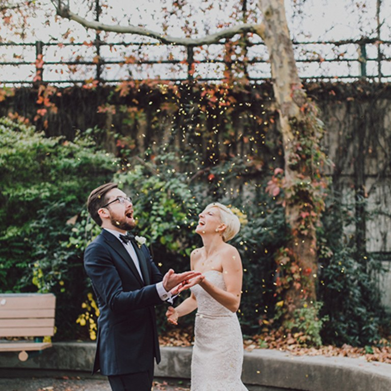 outdoor fall weddings